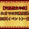【天鳳歴史年表】これまでの天鳳関連の出来事(イベント)一覧表
